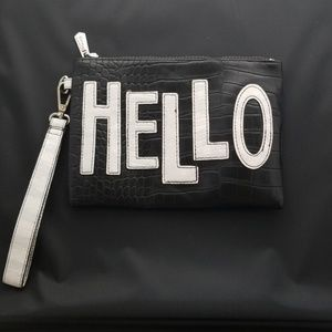 Women's Hello Graphic Purse/Makeup Bag